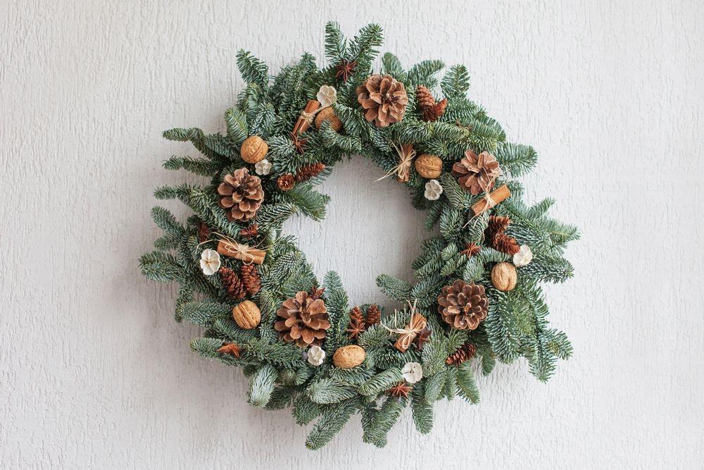 Couronne De Noël Traditionnelle