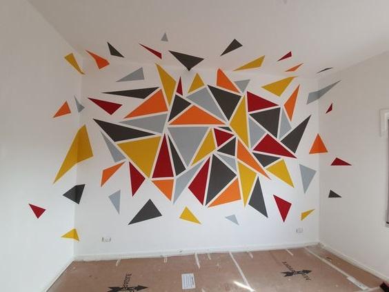 Peindre Des Triangles Une Technique Facile