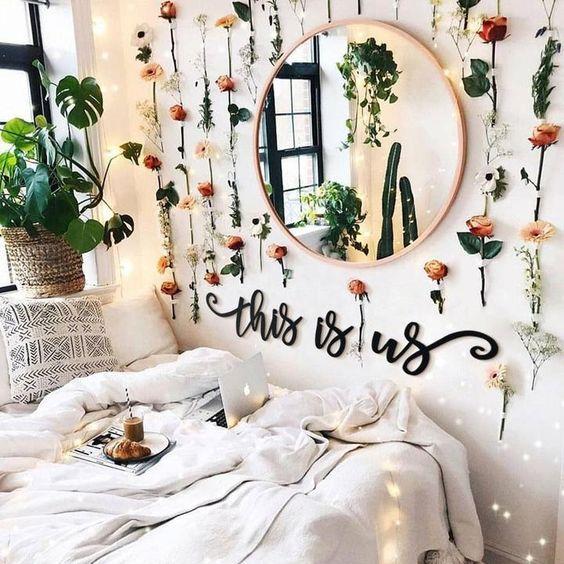 Une Chambre Boheme Fleurie