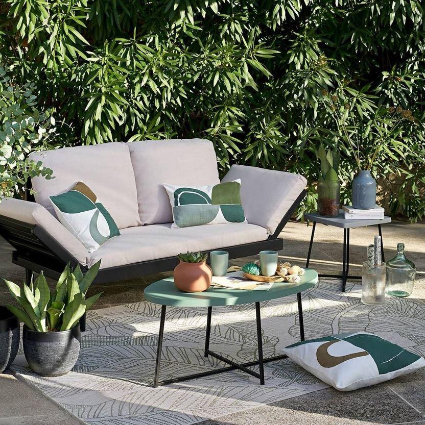 Salon Moderne Esprit Jungle