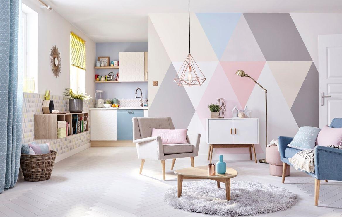 Des Coloris Tendres Pour Un Interieur Scandinave