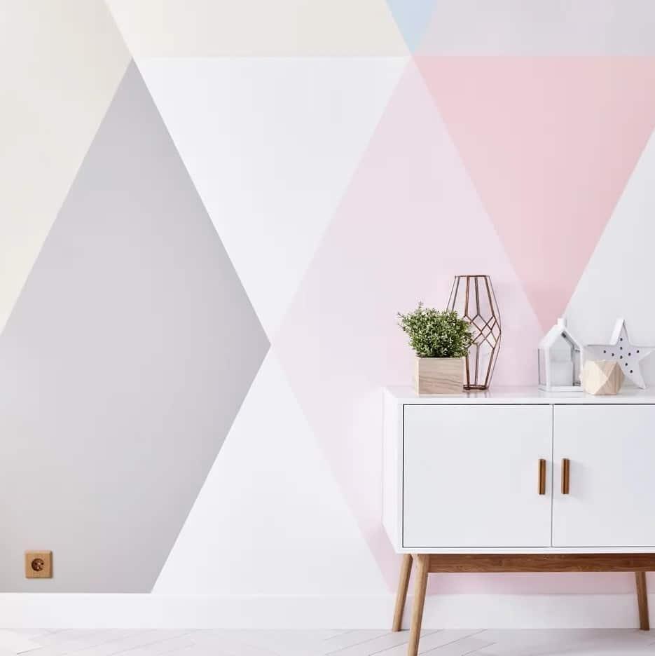 Des Motifs Geometriques Pastels