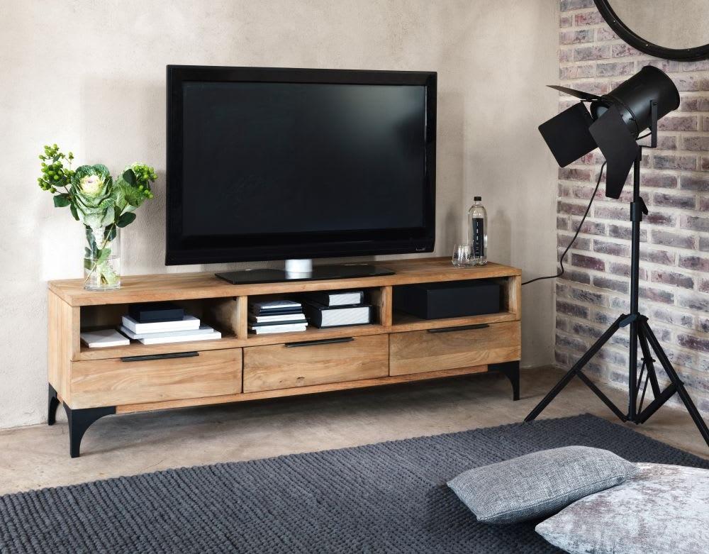 Un Meuble Tv Qui S'integre A La Deco