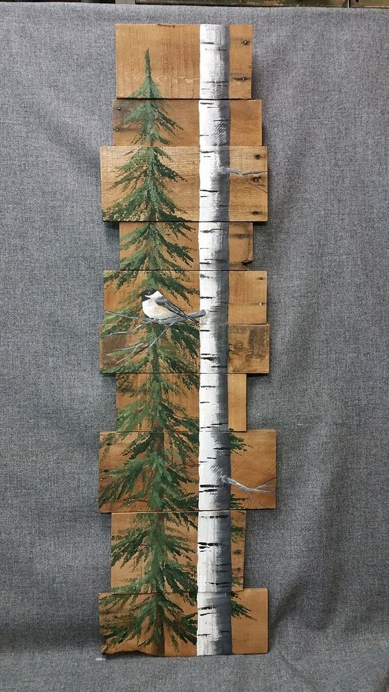 Un Sapin En Bois Inspire