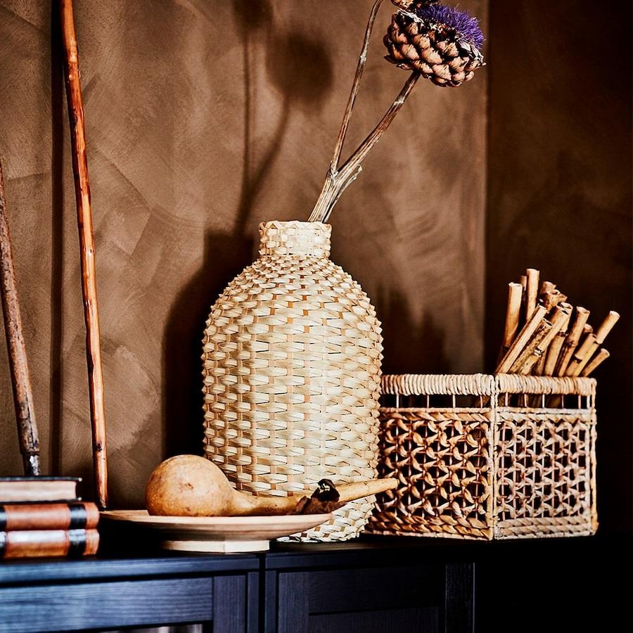 Vase En Bambou 60 Cm KaffebÖna