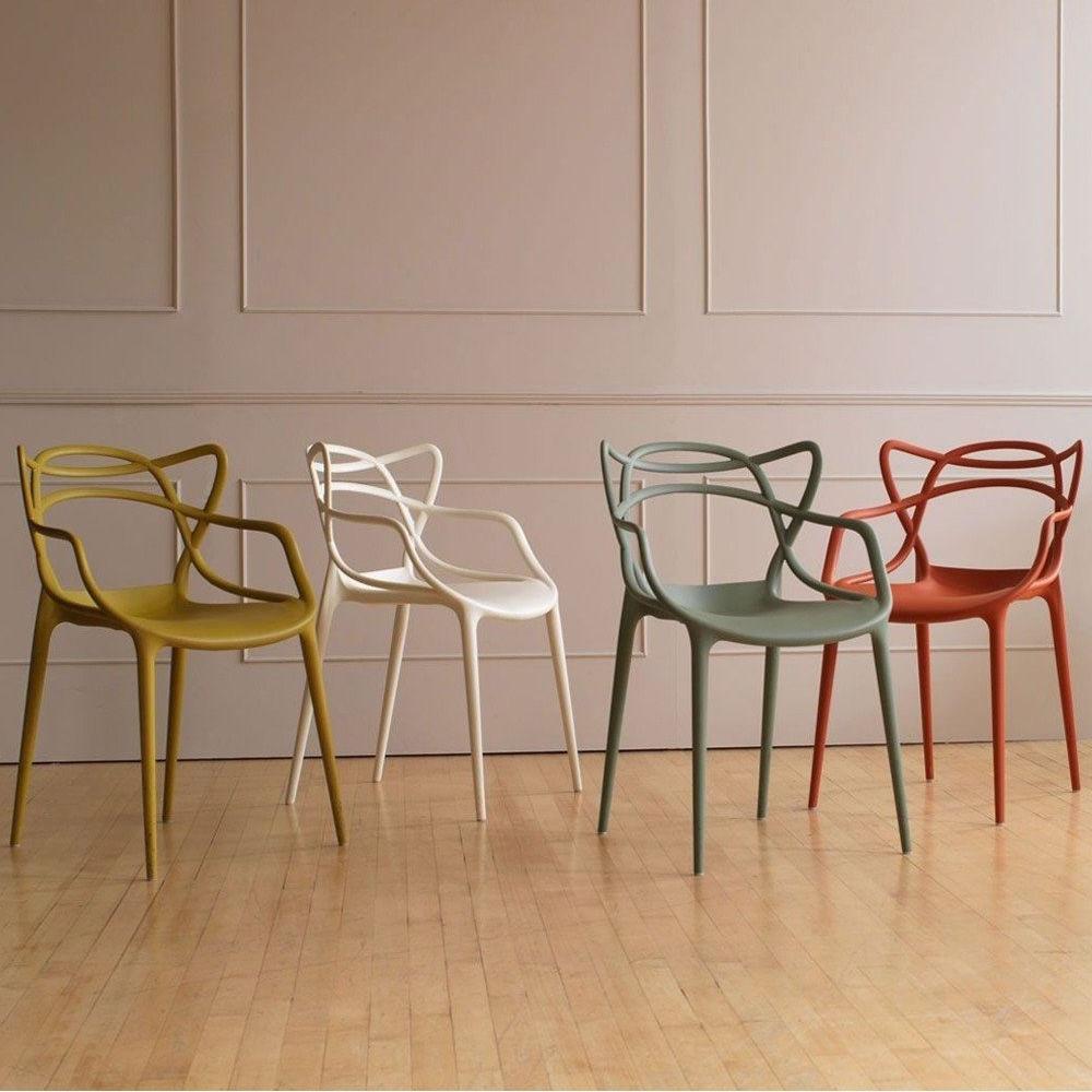 Des Chaises Design Coloree
