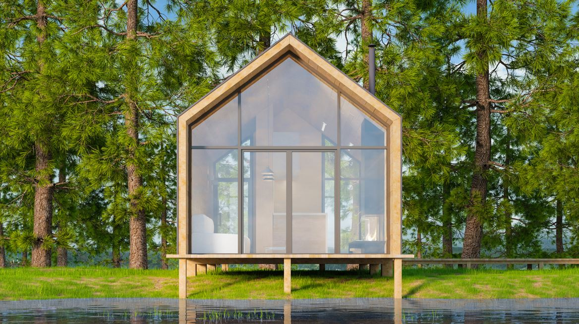 Tiny House En Bois
